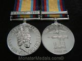 FULL SIZE GULF WAR MEDAL WITH CLASP 2ND AUGUST 1990 REPLACEMENT COPY